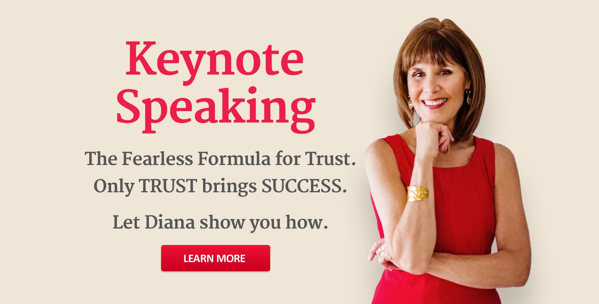 Keynote Speaking - Diana Damron