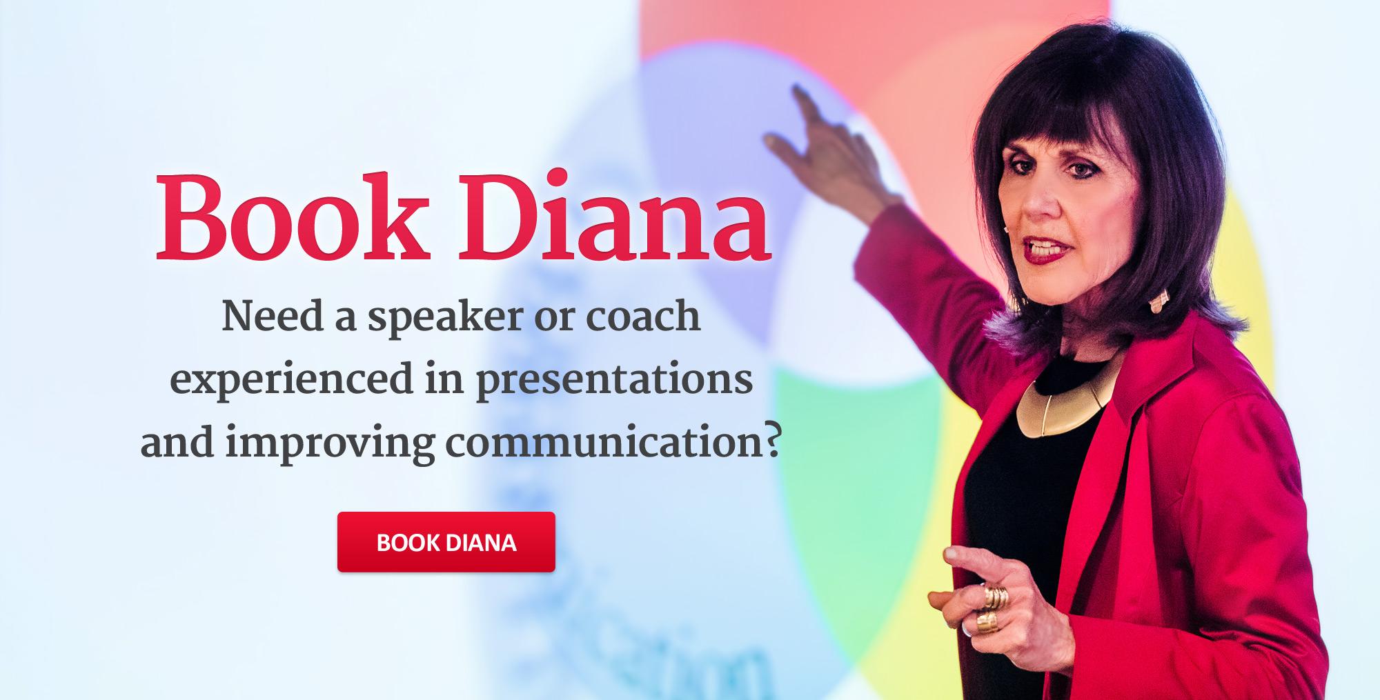 Book Diana Damron!