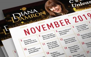 November 2019 - Civility Month Calendar by Diana Damron