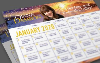January 2020 Calendar by Diana Damron