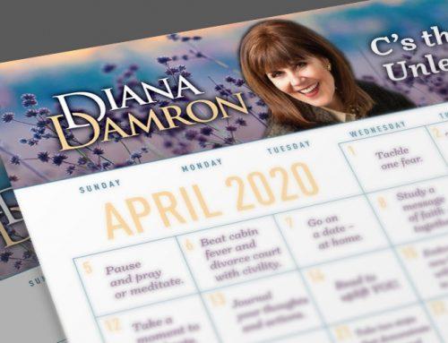 Diana's April Calendar