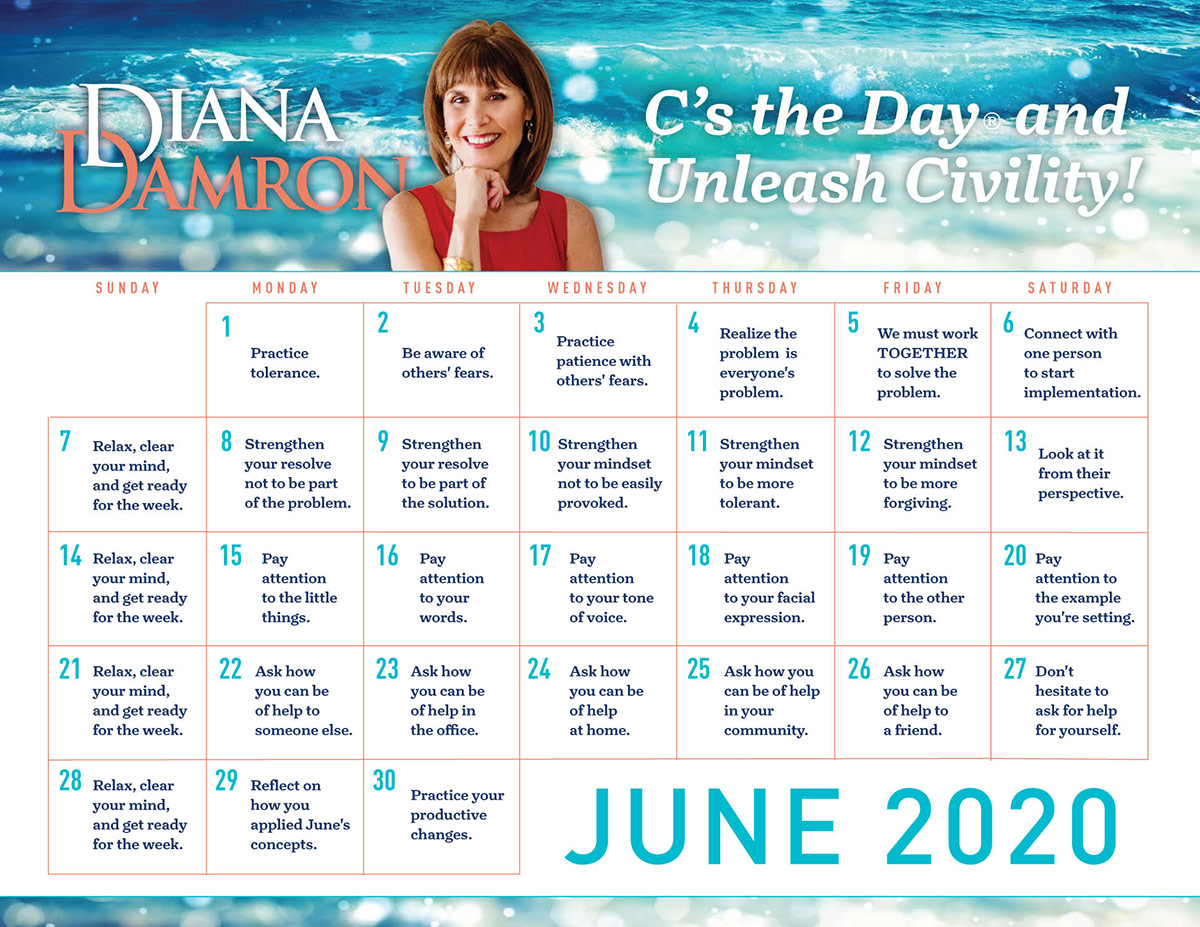 June 2020 Calendar by Diana Damron