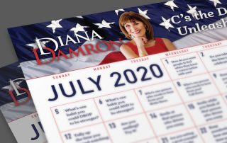 July 2020 Calendar by Diana Damron