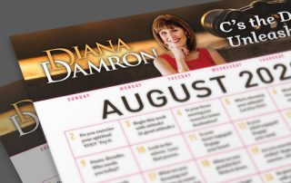 August 2020 Calendar by Diana Damron