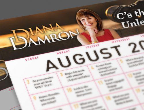 Diana's August Calendar