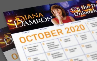Oct 2020 Calendar by Diana Damron