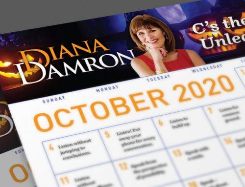 Diana's October Calendar