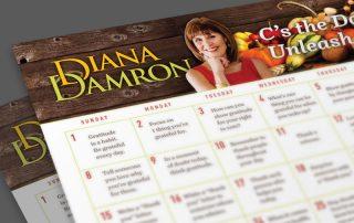 Nov 2020 Calendar by Diana Damron