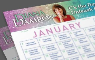 January 2021 Calendar by Diana Damron