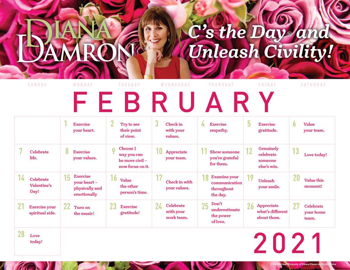 December 2019 Calendar by Diana Damron