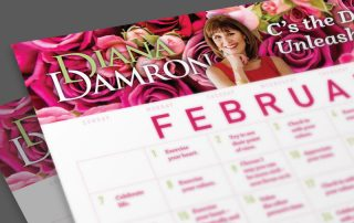February 2021 Calendar by Diana Damron