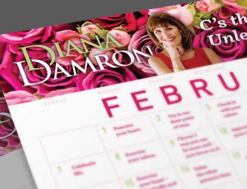 Diana's February Calendar