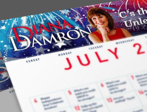 Diana's July Calendar