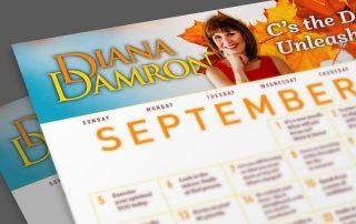 Sept 2021 Calendar by Diana Damron